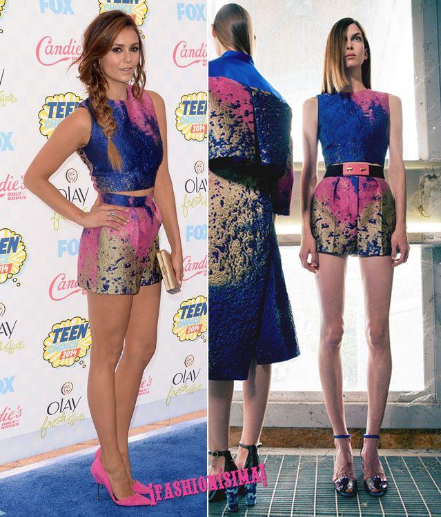 Los looks de las invitadas a los Teen Choice Awards 2014