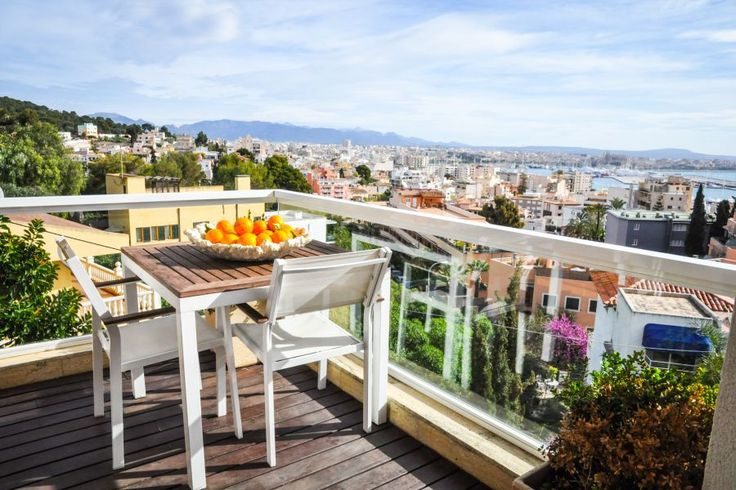 Génova, Palma de Mallorca: Beautiful penthouse with stunning views to the cathedral