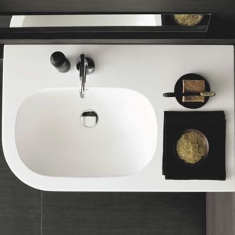 corner-ish sink