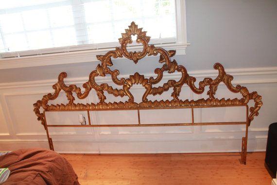 Best Vintage Ornate Brass Gilt Gold Hollywood Regency Mid 400 x 300