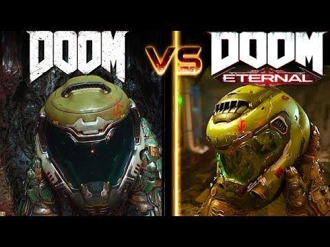 DOOM Eternal vs DOOM Graphics Comparison ( Quakecon 2018