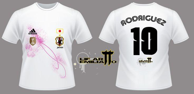 Camiseta Japón D2 Diseño exclusivo de @LifArtEmilianitto