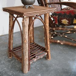 Good We Offer Square Willow End Tables, Twig End Tables,willow Furniture And Twig  Furniture