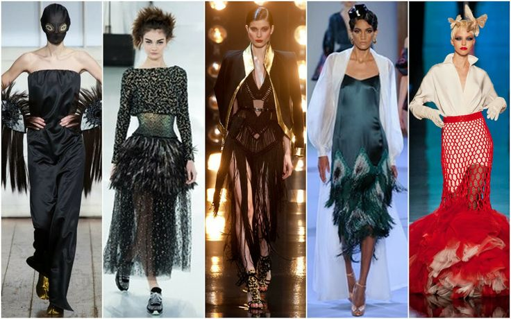 Fringing - Beautifully Fierce!: Paris Haute Couture: Spring 2014.