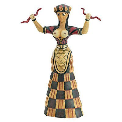 Boxes Jars and Tins 36017: Design Toscano Goddess Cretan Snake Figurine -> BUY IT NOW ONLY: $38.9 on eBay!