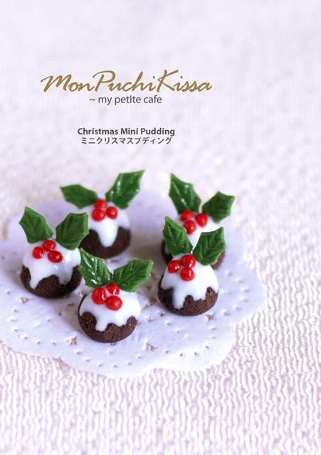 Christmas Mini Pudding by monpuchikissa.deviantart.com on @deviantART