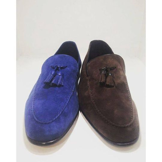 Tassel loafers.