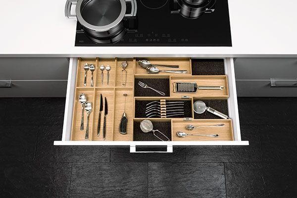 54 best Alles rund um die Einbauküche images on Pinterest - besteckeinsatz für nolte küchen