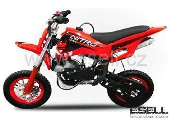 Nitro Minicross DS67 49 cc oranžová