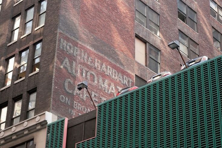There is something so beautiful about these old signs.  NYC