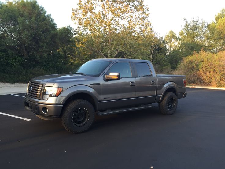 2012 ford f150 fx4 ecoboost 4 doorgrey with toyo mt 39 s 295. Black Bedroom Furniture Sets. Home Design Ideas