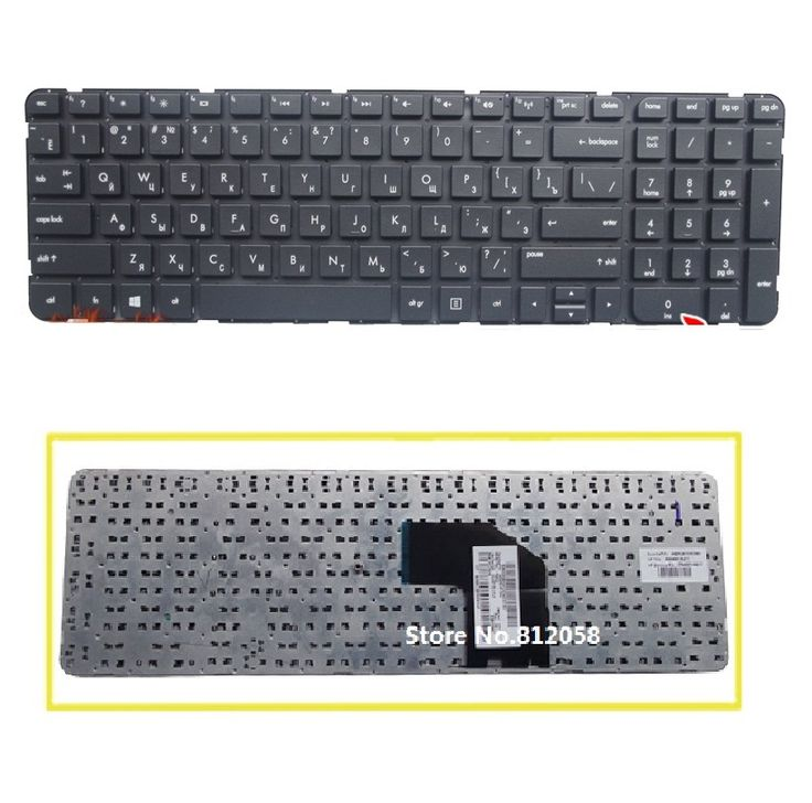 SSEA New Russian Keyboard for HP Pavilion G6 G6-2000 G6-2100 G6-2001TX G6-2025TX G6-2145TX RU Keyboard without Frame