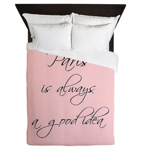 Duvet Covers - Paris Is Always A Good Idea - Paris Duvet Cover - Pink - Paris Decor - Paris Bedroom Decor - Girls Bedding - Teen Bedding door BellaBellaShoppe op Etsy https://www.etsy.com/nl/listing/227883113/duvet-covers-paris-is-always-a-good-idea
