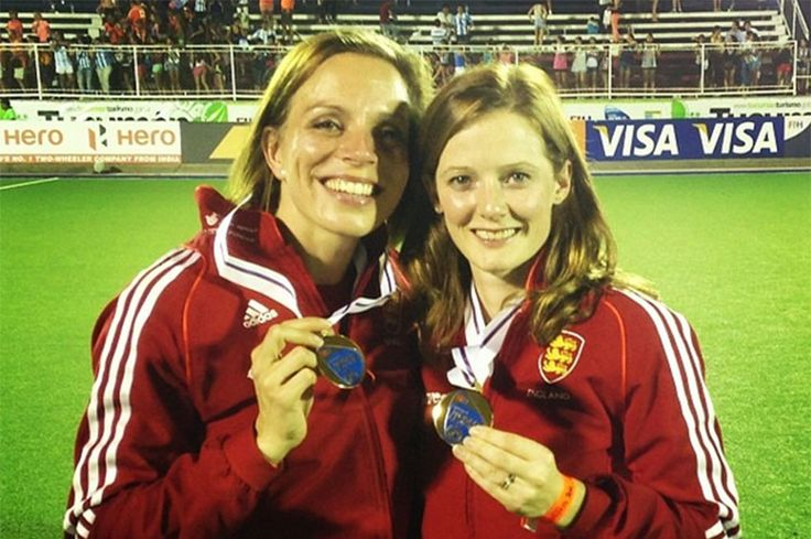 Kate and Helen Richardson-Walsh made sports history on Friday (19 August) when they became the first same-sex couple to win gold medals at the Summer Olympics. The couple were part of the 19-strong Great Britain field hockey team that defeated the Netherlands 2-0 in Rio de janiero. - Read more at: http://scl.io/3xDpphYl#gs.deg6=TA