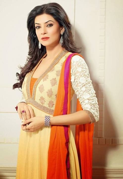 This is the image gallery of Sushmita Sen Anarkali Frocks Dresses 2014 for Girls. You are currently viewing Sushmita Sen Anarkali Frocks 2014 for Girls (14). All other images from this gallery are given below. Give your comments in comments section about this. Also share stylespoint.com with your friends.  #anarkalifrocks, #indiandresses, #anarkalisuits, #sushmitasen