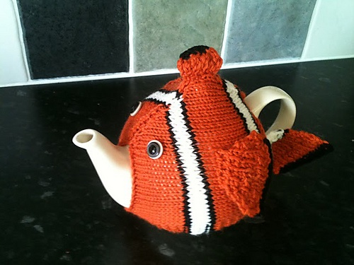 Ravelry: Nemo Tea Cosy pattern by Gemma Waugh