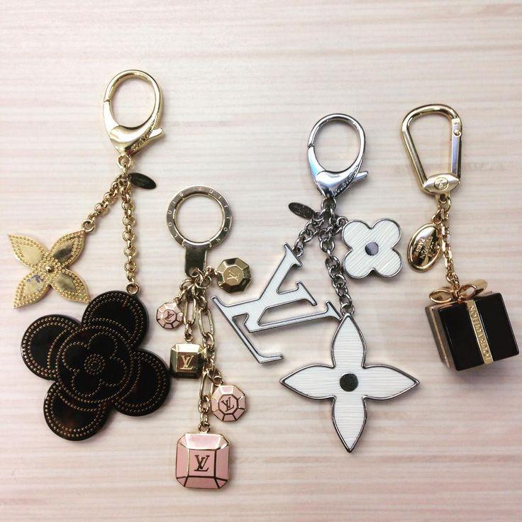 Louis Vuitton Bag Charms. Add style to your bag!! http://keeksdesignerhandbags.com/