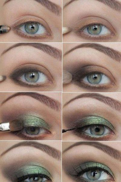How To Apply Green Eyeshadow Perfectly!