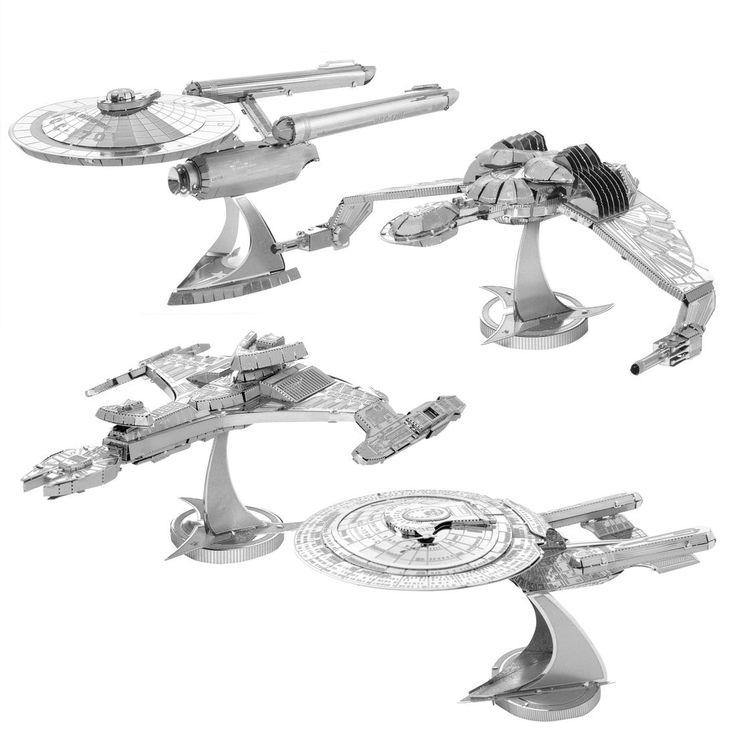 Star Trek Metal Earth 3D Bausätze | getDigital
