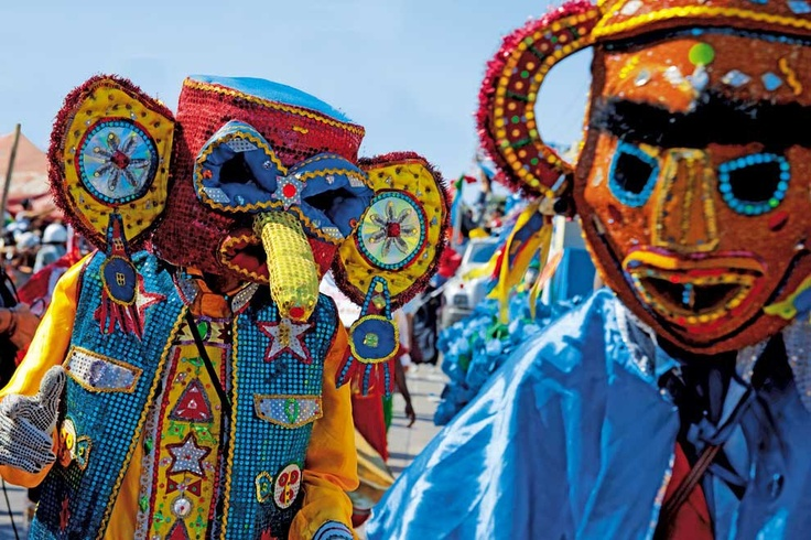 Foto Friday: The Barranquilla Carnival. The Barranquilla Carnival started this week. It is considered Colombia's most important folkloric celebration & a UNESCO Celebration.