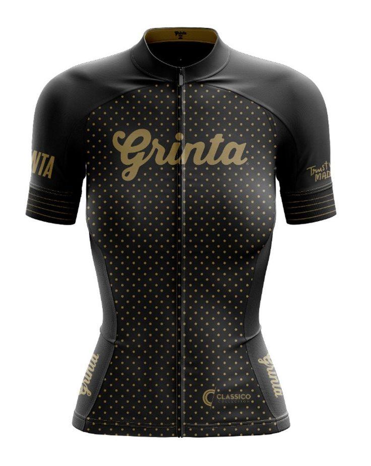 Classico Black + Gold Jersey