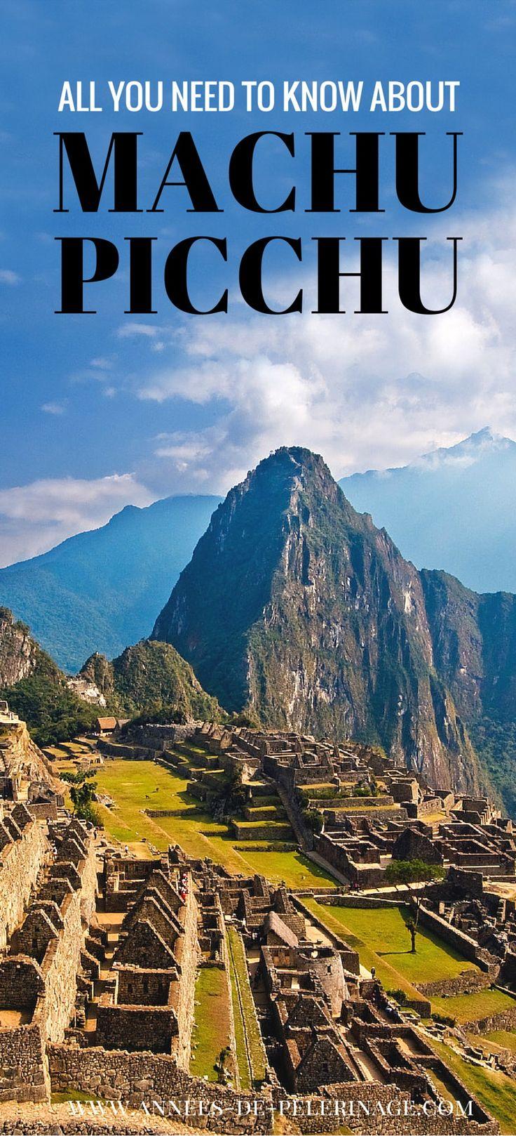 #MachuPicchu desconocido por algunos http://vidaviajes.com/peru-y-el-gran-machu-picchu/