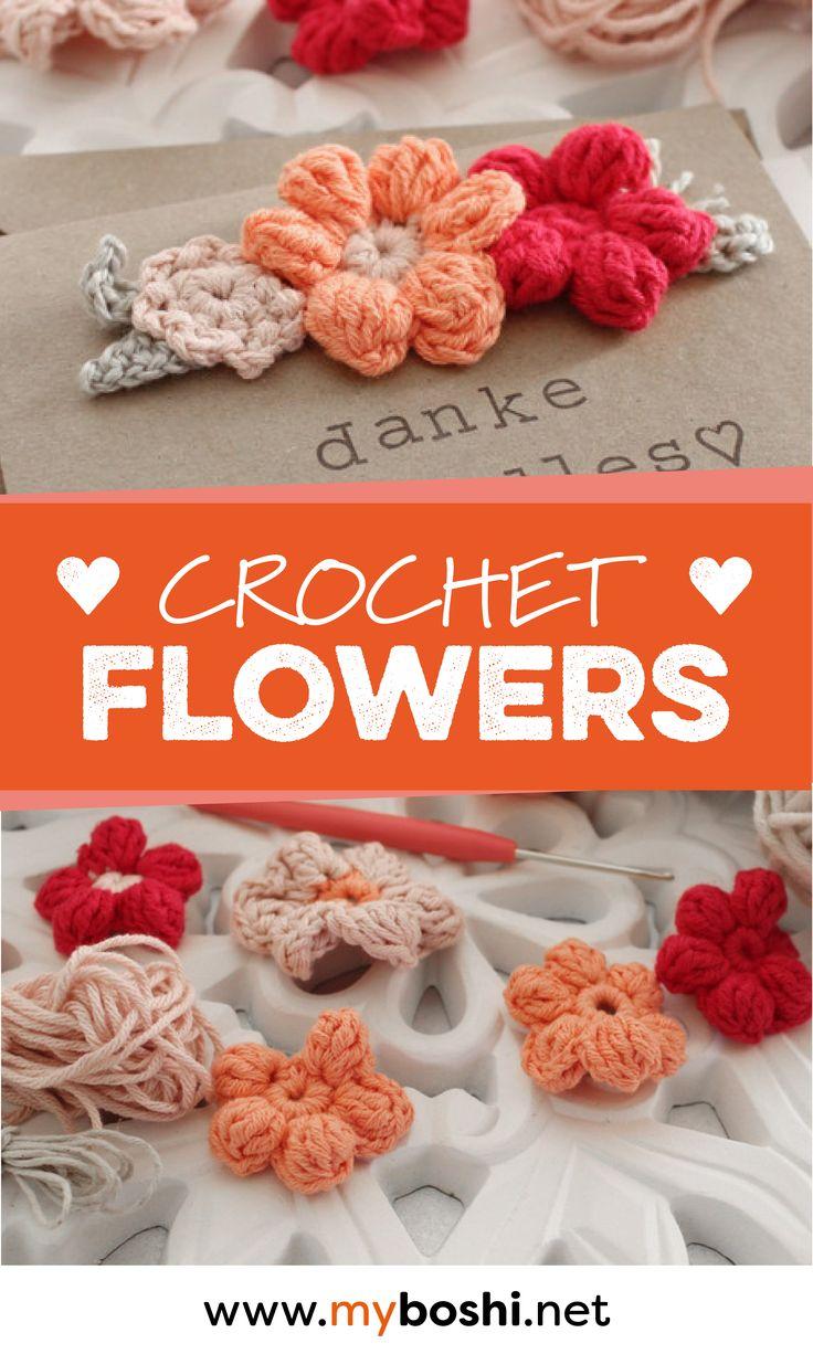19 best DIY: Blumen images on Pinterest | Diy häkeln, Blumen häkeln ...