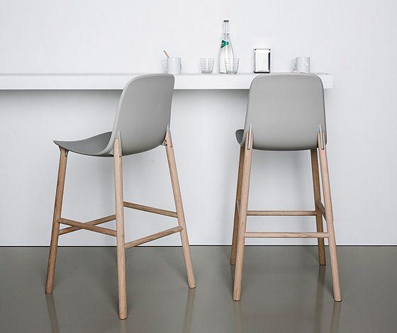 Sharky stools by Neuland for Kristalia