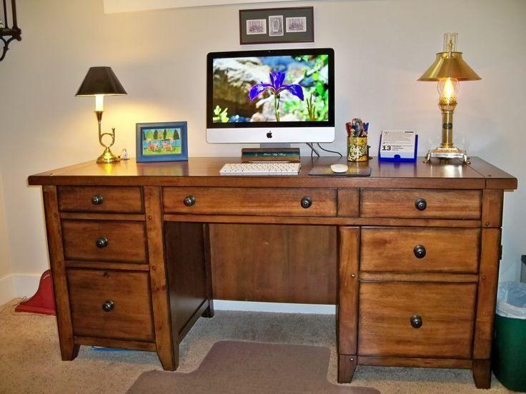 DIY Schreibtisch mit Regalen – #Desk #DIY #shelves