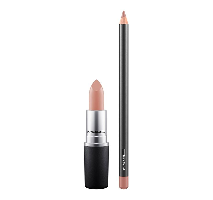 M·A·C Cosmetics: Stripped Naked in Honeylove Lipstick + Subculture Lip Pencil