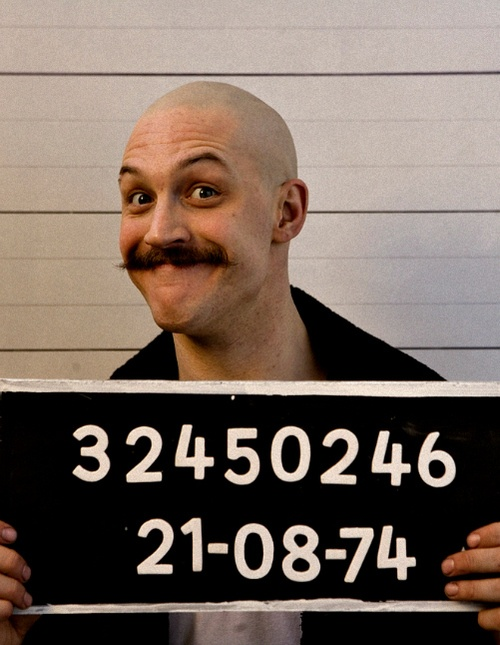 Hahahaha! Cheeseball! He was wonderful as Charlie Bronson. :)