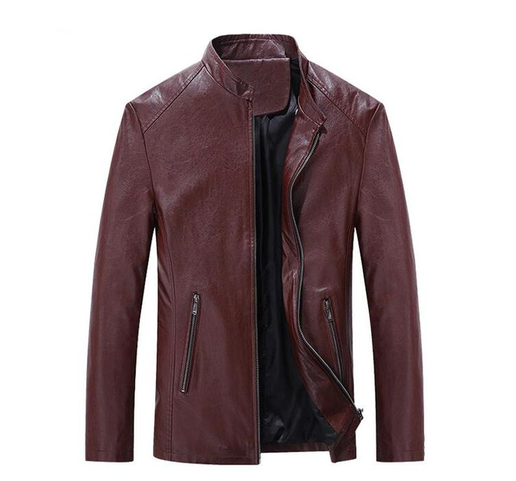 2017 mens faux fur coats and jackets Fashion leather jacket men spring leather motorcycle jackets winter men Black warm jackets