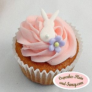 Simple Bunny Cupcakes