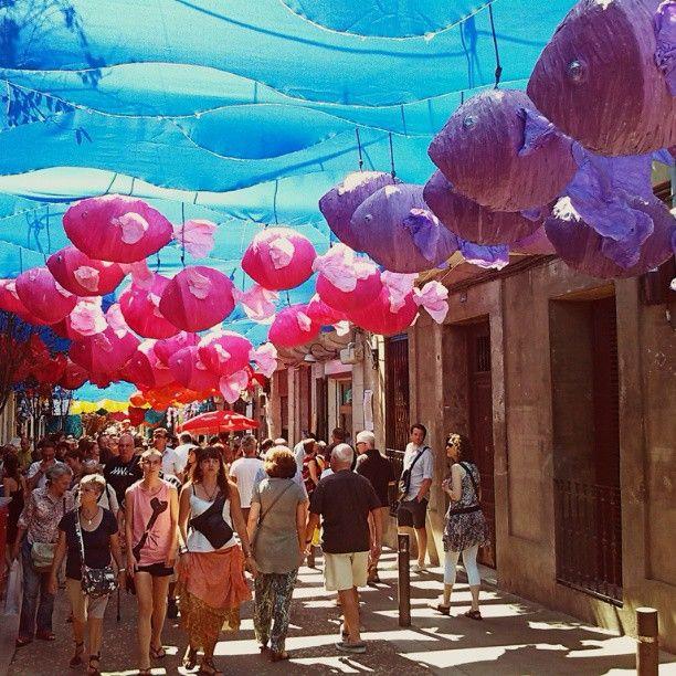 Festa Major de Gràcia - Barcelona, Spain