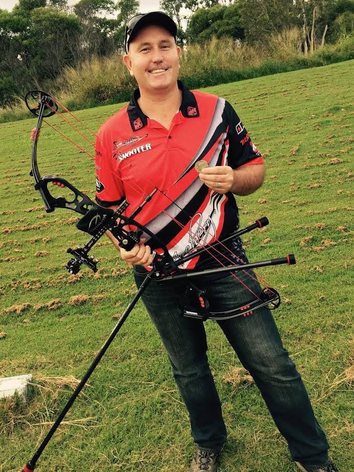 Congratulations to Darryl Reeks shooter Peter Stewart for taking 2nd in the 2015 Qld State FITA Field Championships this weekend!