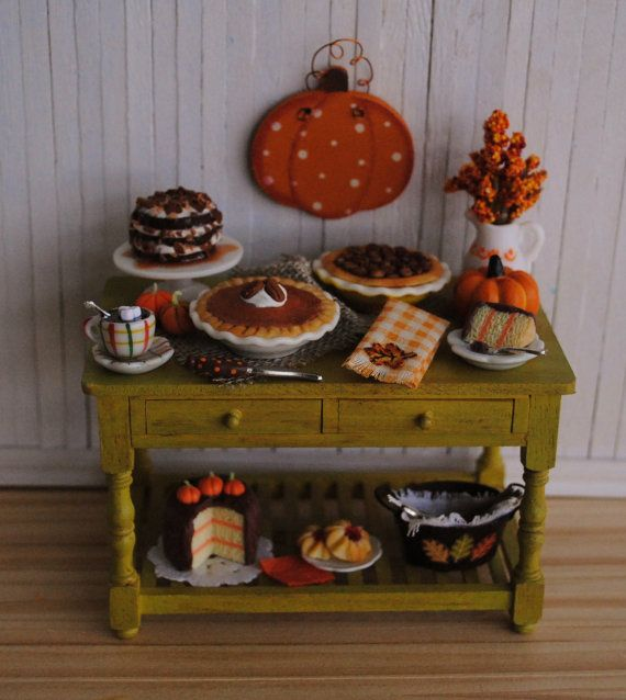 17 Best Images About Thanksgiving In Miniature On