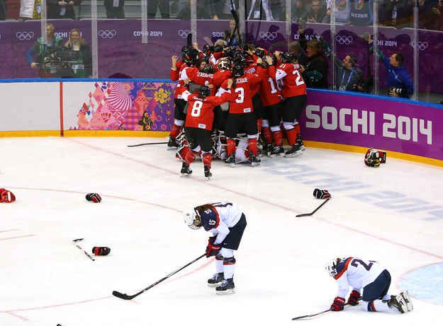 Canada Women's Hockey Snatches Gold From U.S. With One Of The Most Heartbreaking Comebacks Ever