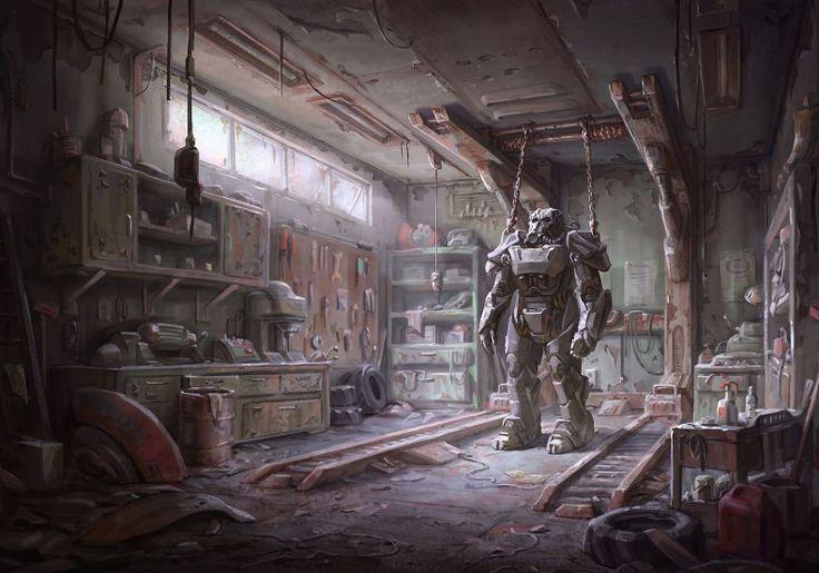 Fallout 4 Power Armor Wallpaper HD