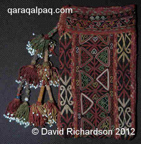 Qaraqalpaq chain-stitch shayqalta