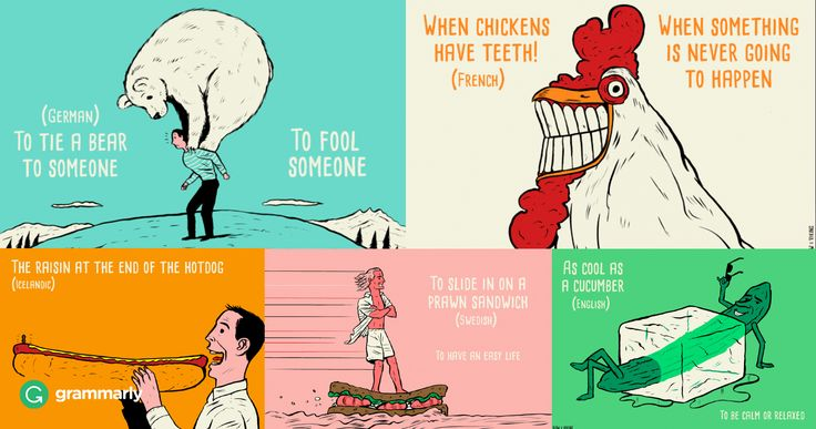 Idioms sometimes puzzle even native speakers of a language. Would you like to try figuring out some international idioms? Award-winning artist Paul Blow illustrated some…