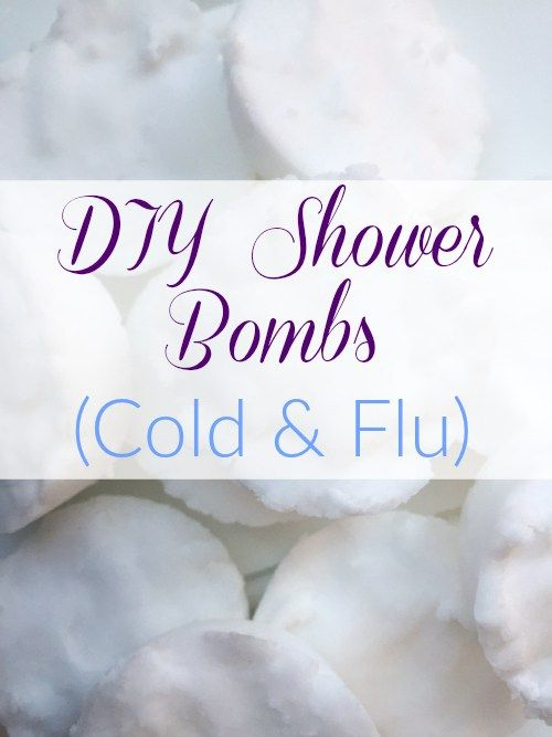 DIY Shower Bombs for Cold and Flu Season                                                                                                                                                                                 More