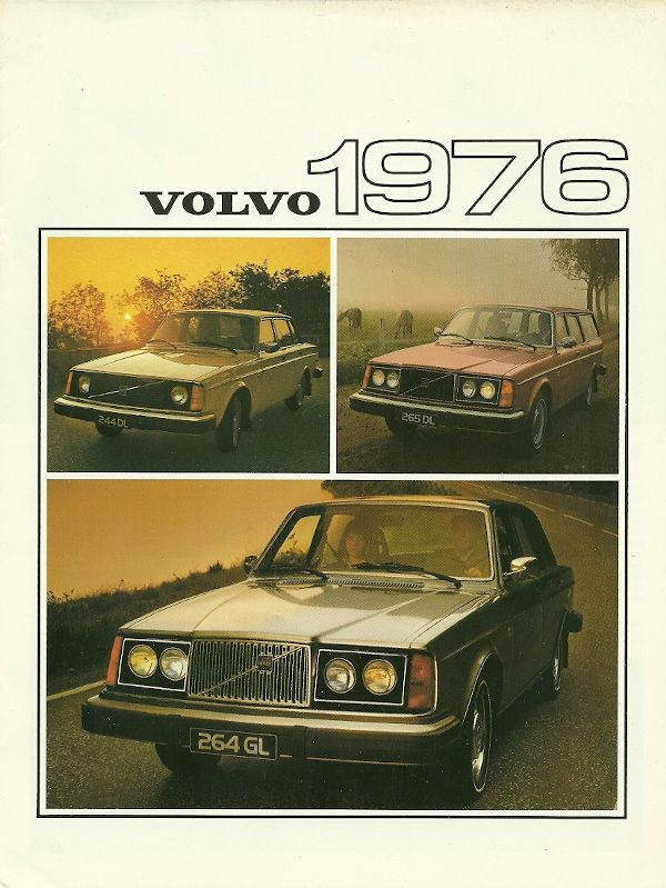 They're boxy but good!: Volvo Ad, Vintage Volvo, Classic Cars, 1976 Volvo, Vintage Cars, Volvo Cars, Cars Brochures, Cars Ads, Cars Observed