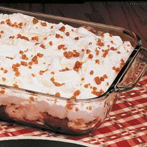 Angel Toffee Dessert Recipe | Taste of Home Recipes: Angel Toff, Angel ...