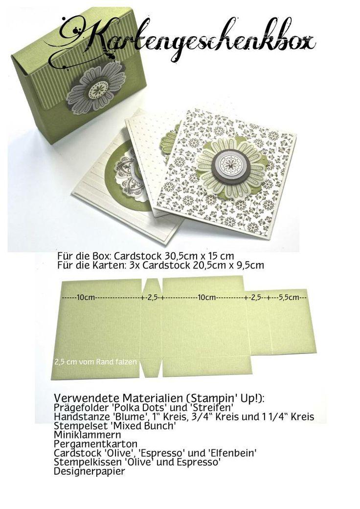 FlebbeArt - Karten-Geschenkbox Anleitung
