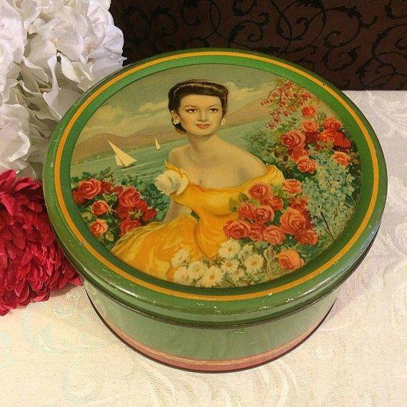 Vintage Italian tin