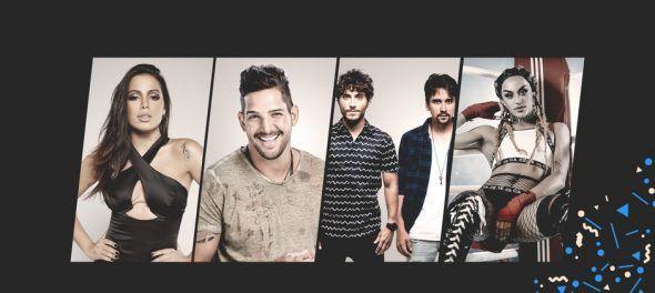 Anitta recebe Pabllo Vittar, Banda Eva e Bruninho e Davi no 'Música Boa Ao Vivo'