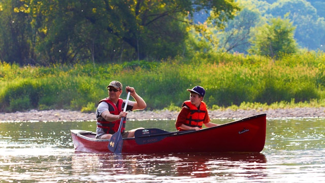 Canoeing the Grand River, Cambridge to Paris, Ontario