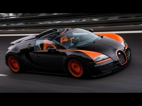 2013 Bugatti Veyron Grand Sport Vitesse WRC - Wolrd Faster Roadster. More: http://carpictures.us/  The worlds fastest roadster is a Bugatti. The Bugatti Veyron 16.4 Grand Sport Vitesse has set the world speed record for open-top production sports cars at the Volkswagen Groups proving grounds in Ehra-Lessien where TÜV, the renowned independent ...