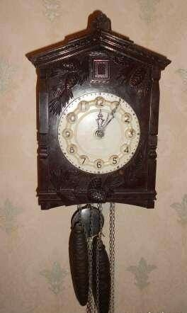 Clock/zegar z kukulka