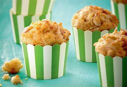 Muffins salés aux pommes et fromage